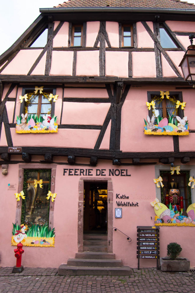 Riquewihr , Alsace, France - Beauty and the Beast town