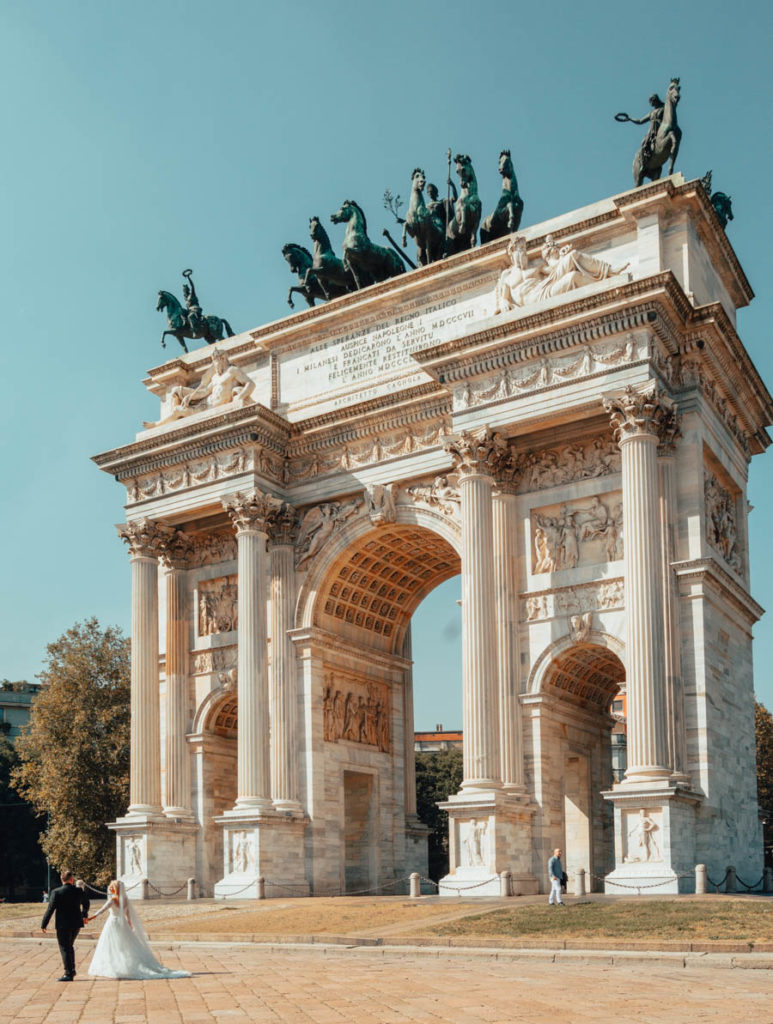 Arco della Pace - One perfect day in Milan