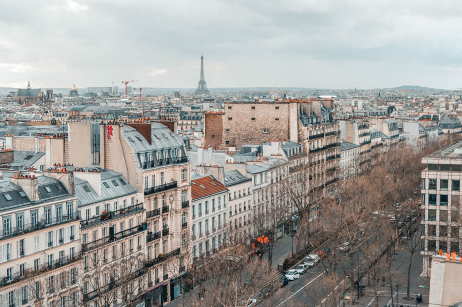 Paris Hotel with Eiffel Tower View