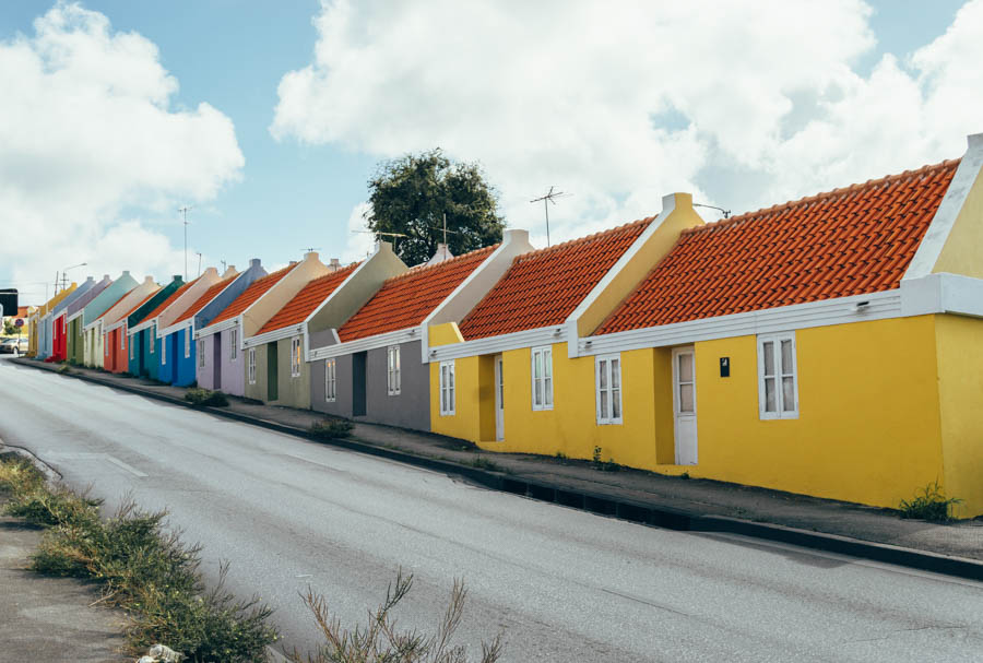 Row of Colorful Houses Willemstad Photo Spots