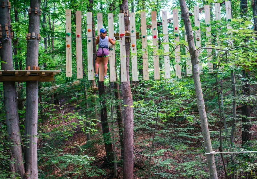 Explore Park Treetop Quest - things to do in Virginia's Blue Ridge