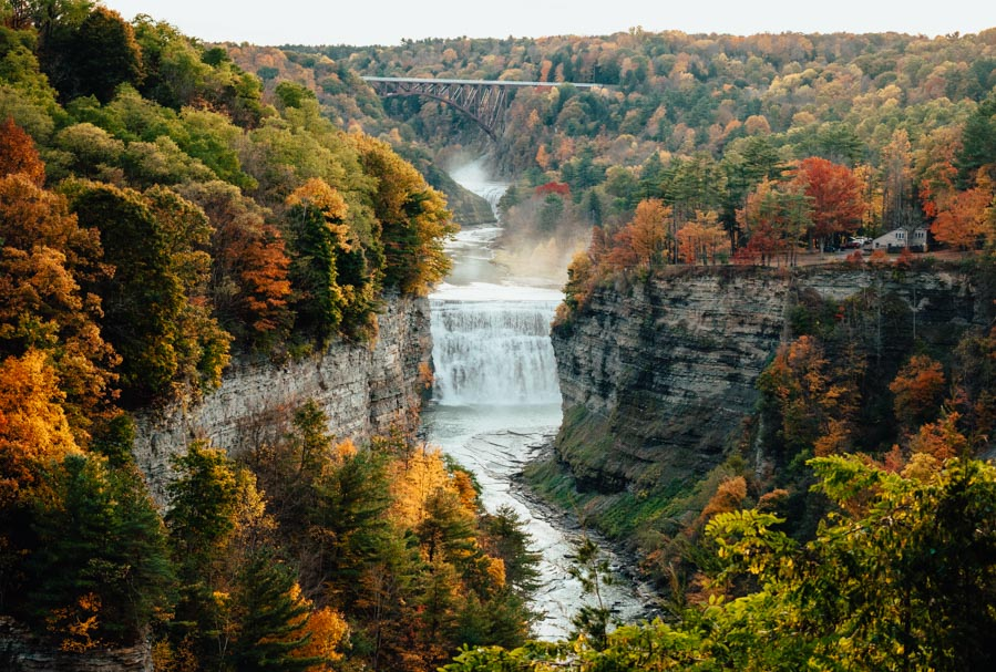 Staycation ideas - Letchworth State Park