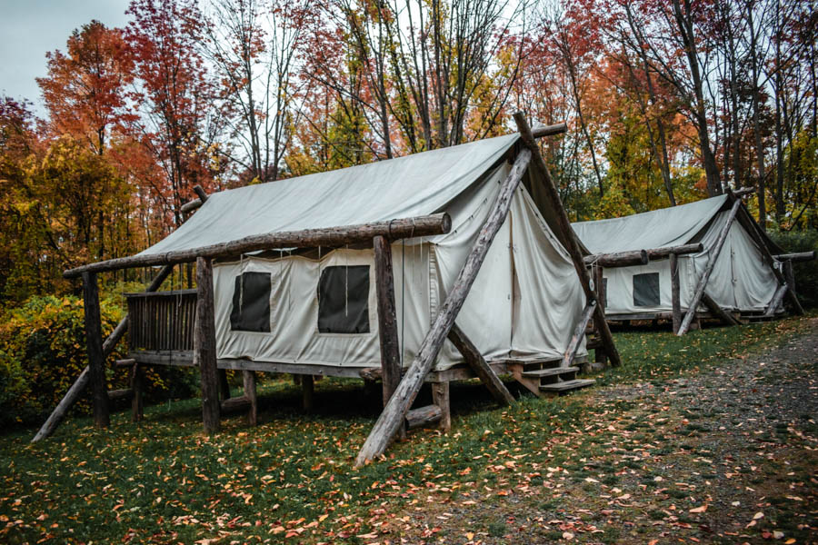 Firelight Camps in Ithaca