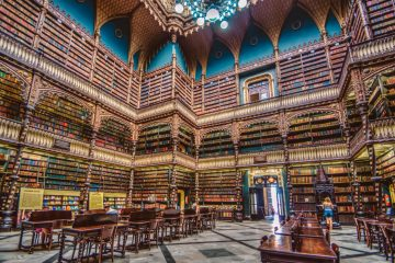 The Most Beautiful Libraries in the World - Royal Portuguese Cabinet of Reading