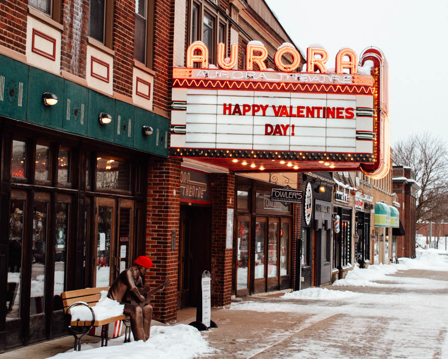 East Aurora in winter - Day trips from Buffalo New York