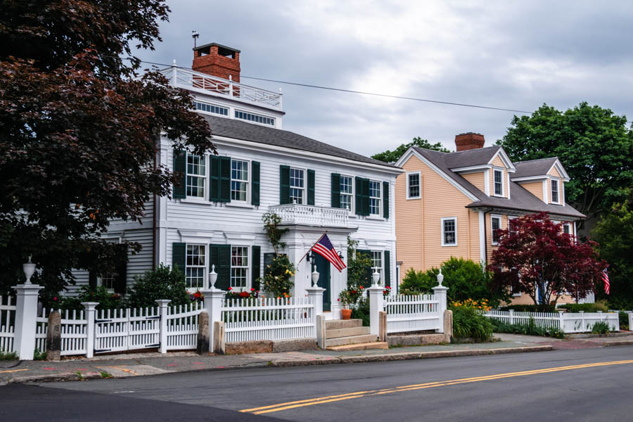 Manchester-by-the-Sea street - Cape Ann Towns