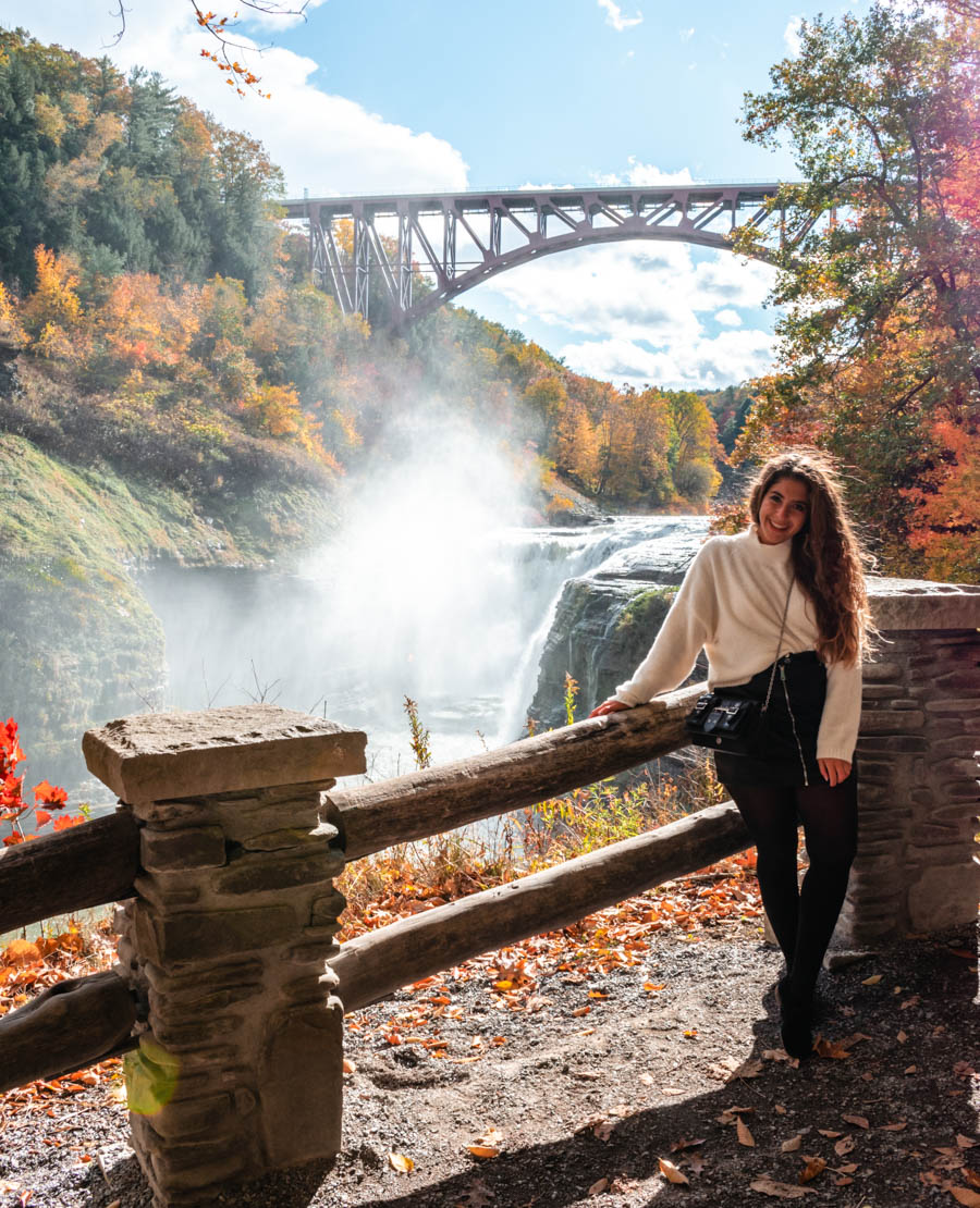 Letchworth State Park Fall hiking