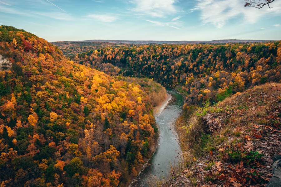 Letchworth State Park Fall