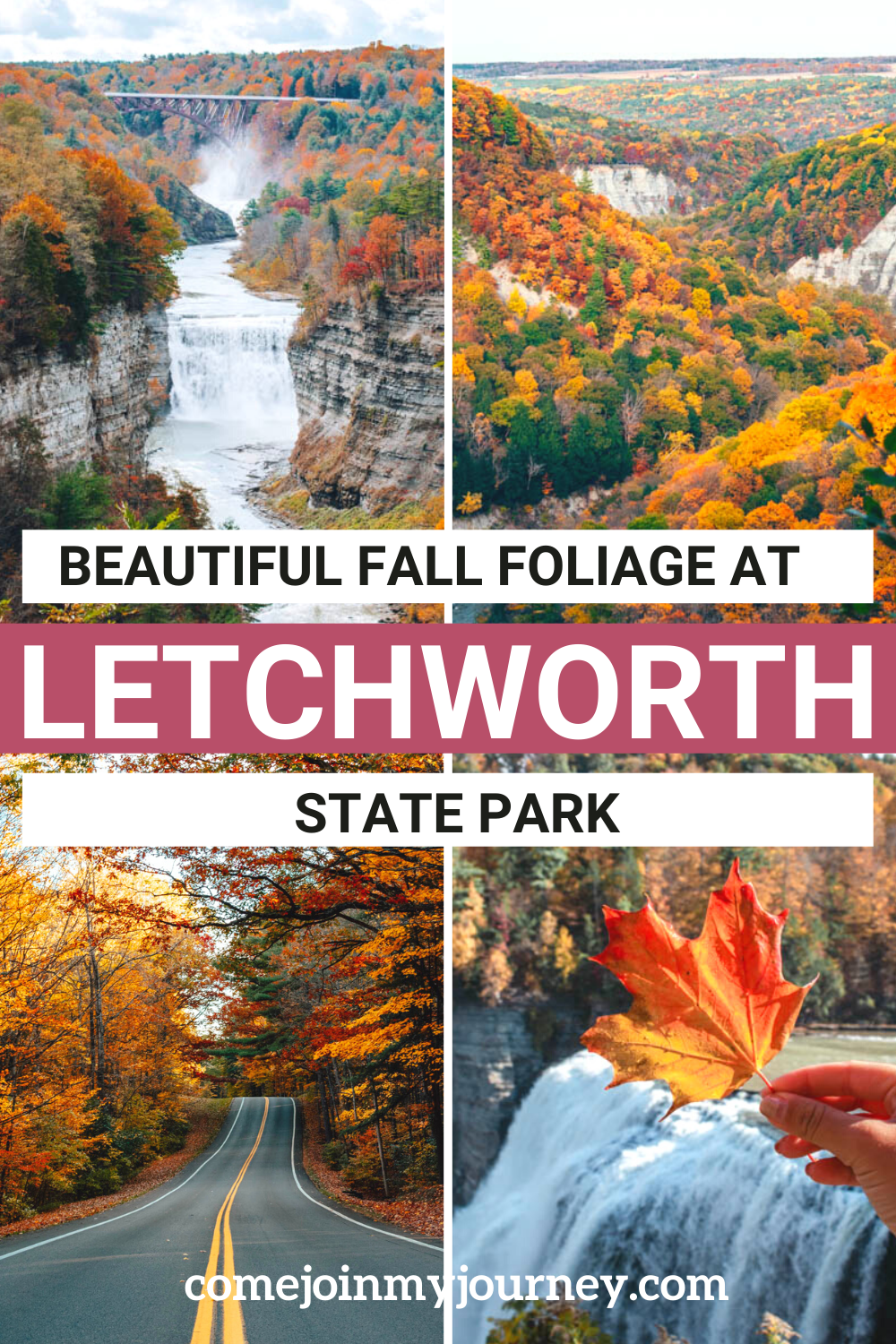 Letchworth State Park in Fall
